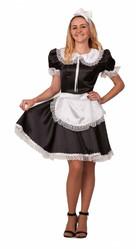Французские горничные - Взрослый костюм горничной