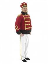 Исторические - Взрослый костюм Гусара с белыми брюками