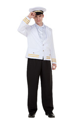 Капитаны - Взрослый костюм Капитана корабля