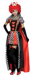 Красная королева - Взрослый костюм Королевы сердец