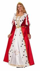 Королевы - Взрослый костюм королевы