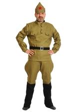 Военные и спецназ - Взрослый костюм красноармейца