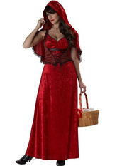 Красная шапочка - Взрослый костюм красной шапочки для хэллоуина