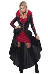 Вампиры и Дракулы - Взрослый костюм кровожадной вампирши