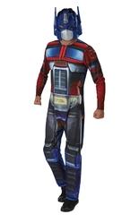 Трансформеры - Взрослый костюм Оптимуса Прайма