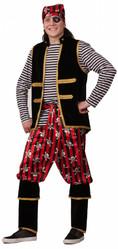 Пираты и капитаны - Взрослый костюм Пирата