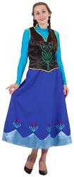 Холодное сердце - Взрослый костюм Принцессы Анны