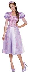Королевы и Принцессы - Взрослый костюм принцессы Рапунцель