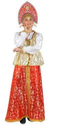 Женские костюмы - Взрослый костюм Русской красавицы