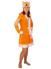 Лисы - Взрослый костюм Рыжей Лисицы