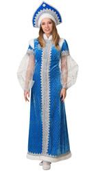 Женские костюмы - Взрослый костюм Снегурочки