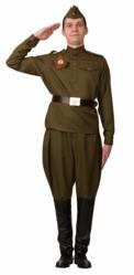 День Военно-воздушных сил - Взрослый костюм Солдата в галифе