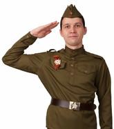 Военные и спецназ - Взрослый костюм Советского солдата