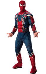 Человек-паук - Взрослый костюм Спайдермена Металлик