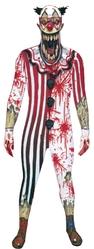 Клоуны - Взрослый костюм Страшного клоуна