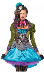 Алиса в Стране чудес - Взрослый костюм Сумасшедшей шляпницы