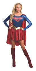 Супермен - Взрослый костюм Супергерл