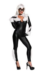 Человек паук - Взрослый костюм супергероини Черной Кошки