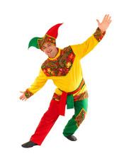 Шут - Взрослый костюм царского скомороха