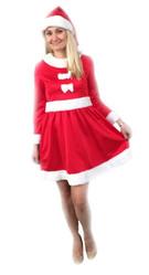 Санта - Взрослый костюм Внучки Санты