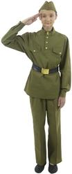 Военные и спецназ - Взрослый костюм военного