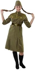 Военные и Милитари - Взрослый костюм военной ВОВ