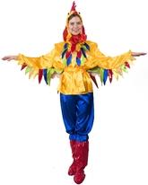 Курицы - Взрослый костюм Яркого Петушка