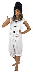 Снеговики - Взрослый костюм зимнего Снеговика