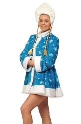 Санты и Снегурочки - Взрослый мини костюм снегурочки