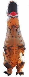Динозавры - Взрослый надувной костюм Ти-Рекса