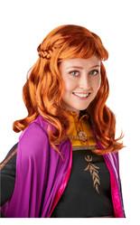 Холодное сердце - Взрослый парик принцессы Анны