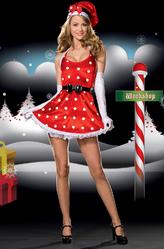 Рождество - Костюм Яркая снегурочка