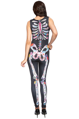 Яркий скелет