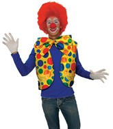 Клоуны - Яркий жилет клоуна