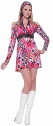 Ретро - Яркое платье в стиле 60-х