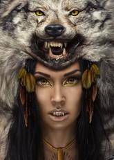 Ресницы и линзы - Yellow Wolf