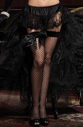 Подъюбники и юбки - Юбка черная с кружевом