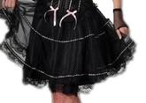 Подъюбники и юбки - Юбка с розовой лентой