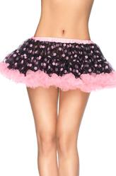 Подъюбники и юбки - Юбка в розовый горошек