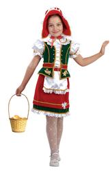 Красные шапочки - Костюм Юная Красная Шапочка