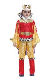 Цари и короли - Костюм Юный король красно-золотой