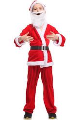 Дед Мороз - Костюм Юный Санта-Клаус