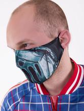 Рыцари и Воины - Защитная маска металлическим