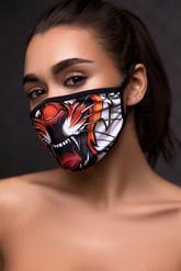 Леопарды и тигры - Защитная маска тигра