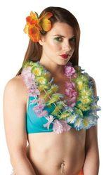 Национальные - Зеленые гавайские цветочные бусы