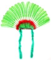 Ковбои и Индейцы - Зеленый головной убор индейца