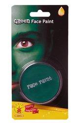 Супергерои и комиксы - Зеленый грим-краска для лица