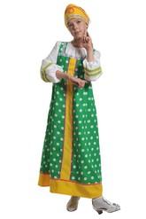 Русские народные - Зеленый костюм Аленушки