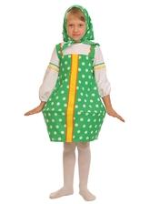 Русские народные - Зеленый костюм Матрешки