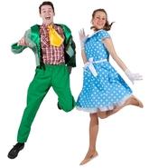 Ретро и Гангстеры - Зеленый костюм стиляги